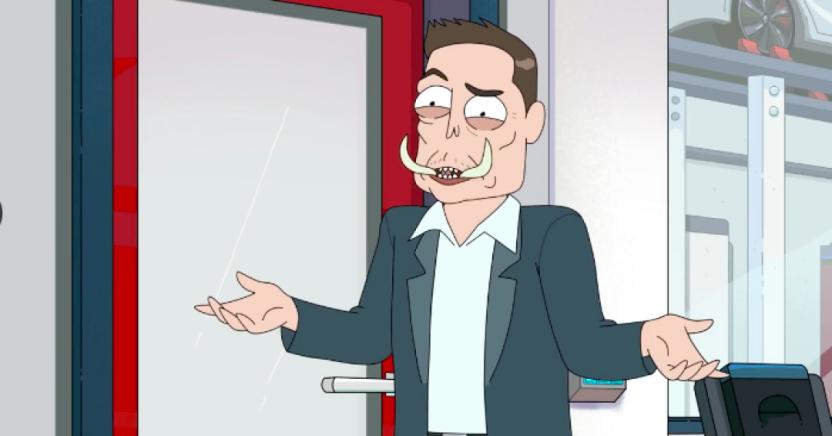 Илон Маск появится в популярном мультсериале «Рик и Морти»