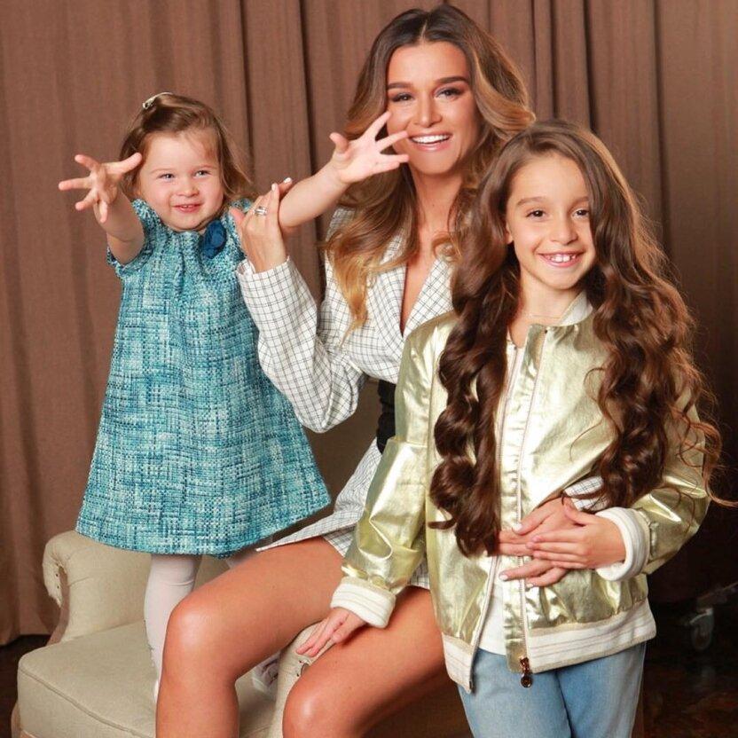 Ксения Бородина показала, как интересно проходят занятия ее младшей дочери