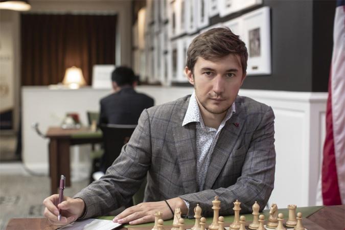 Шахматист Сергей Карякин в гостях у Детского радио
