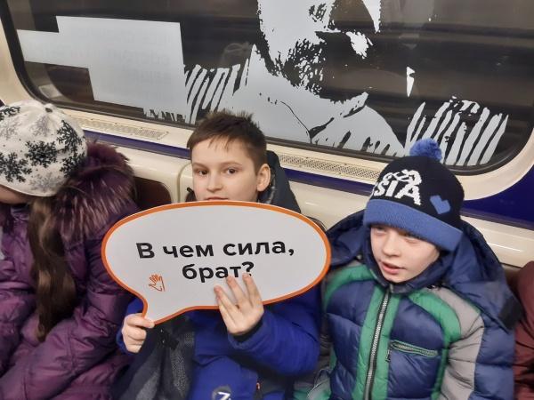 В метро Нижнего Новгорода запустили  «умный» вагон