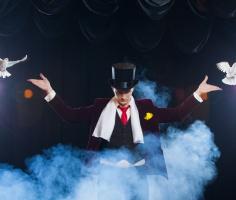 Научиться фокусам и посмотреть цирковое шоу можно, не выходя из дома