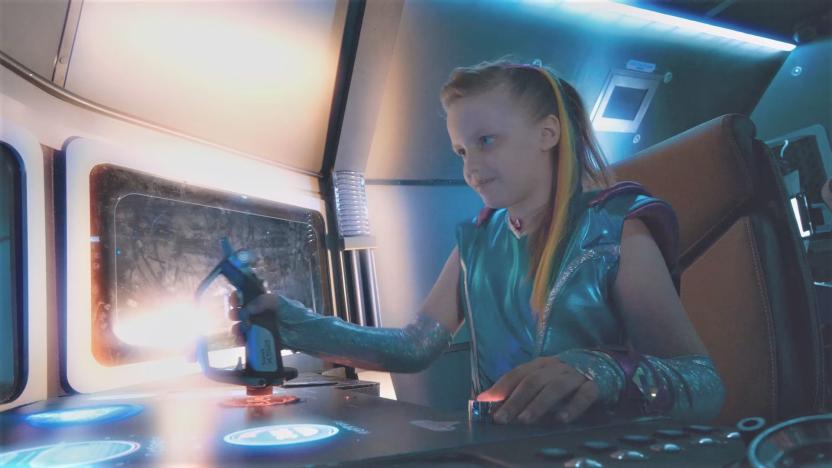 Инопланетянка Радуга с планеты творчества объединила талантливых детей