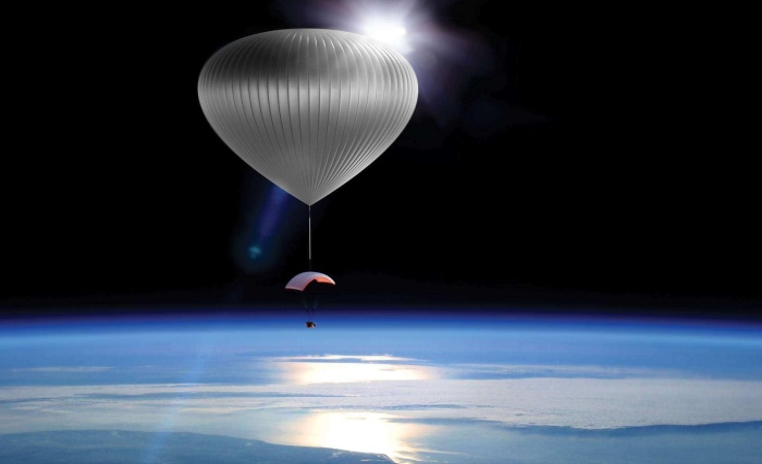 В космос - на воздушном шаре!
