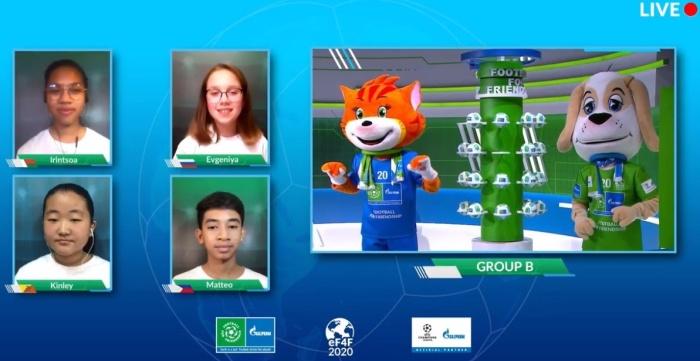 Дети из более, чем 100 стран примут участие в онлайн-чемпионате мира по «Футболу для дружбы»