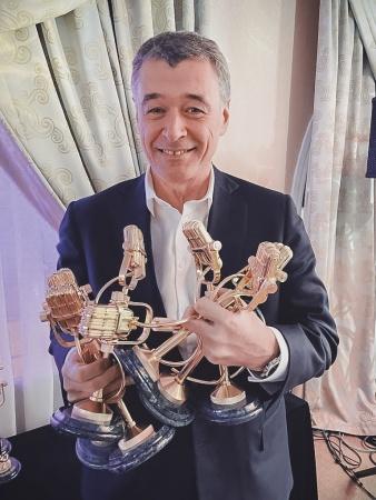 Поздравляю всех вас с очередной победой – семь «золотых микрофонов» «Радиомании-2020» наши!