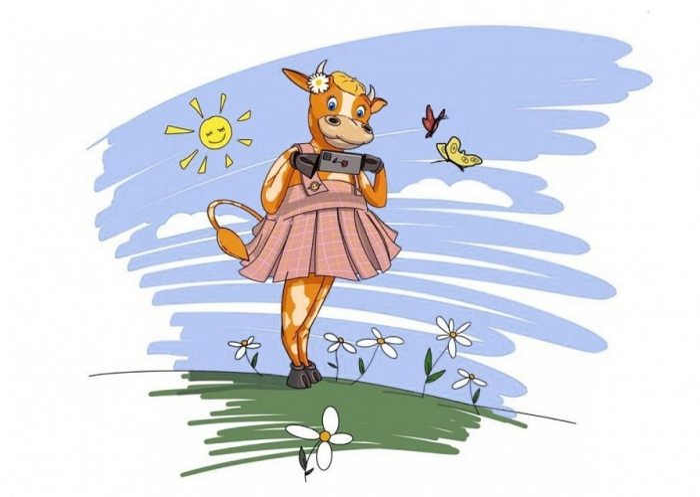 Всероссийский конкурс детской анимации. Рисуем корову