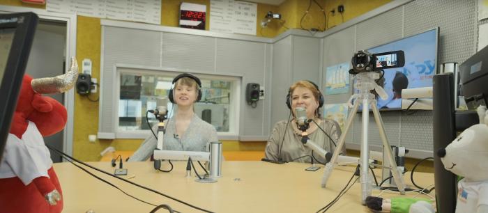 """Детское радио осуществило мечту подопечной фонда """"Синдром любви"""""""