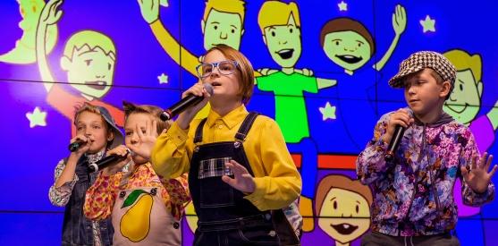 Живой концерт Волшебников двора в студии Детского радио