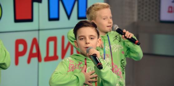 Живой концерт группы Домисолька в студии Детского радио