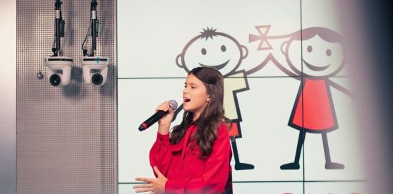 Живой концерт Софии Феськовой в студии Детского радио