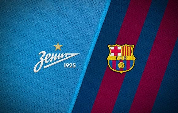 «Зенит»-м и «Зенит»-2 проведут товарищеские матчи с «Барселоной» Хувениль А