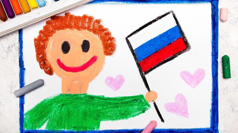 Флэшмоб Детского радио ко Дню России