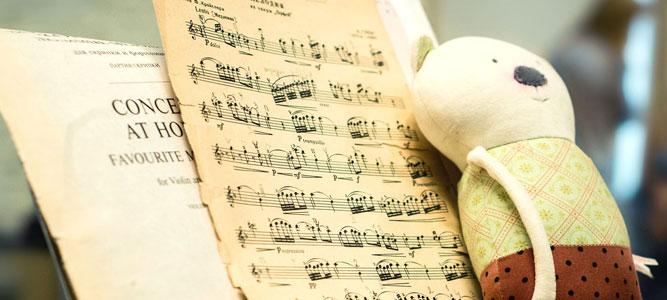 Кто слушает музыку, тот раньше заговорит